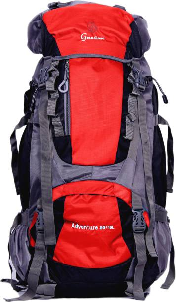 3fd0fca4fdd2 GRANDIOSE 70L Red Hiking Backpack   Rucksack bags (GTB67001RD) Rucksack - 70  L