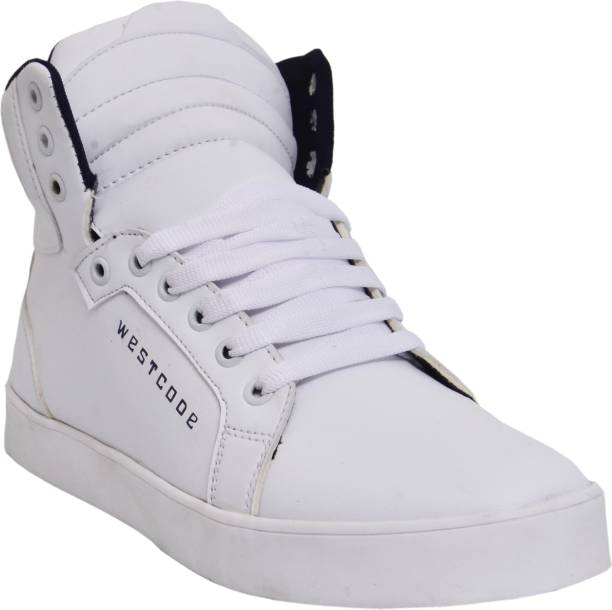 Black Tiger Shoes For Men s Synthetic Boots Leather Casual Shoes and casual  sneakers 8030-White 387d8d3b1