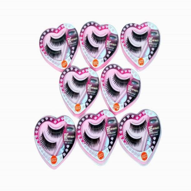 Shopeleven Services stiying eye lashes day and night (Pack of 8)