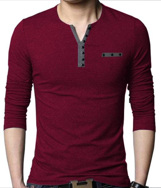 57a7f068b 3 4 Sleeve Tshirts - Buy 3 4 Sleeve Tshirts Online at Best Prices In ...