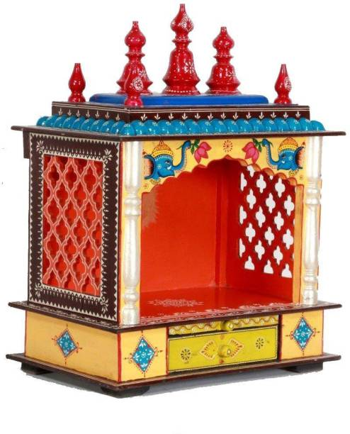 HOME AND BAZAAR HB17KI-067 Solid Wood Home Temple