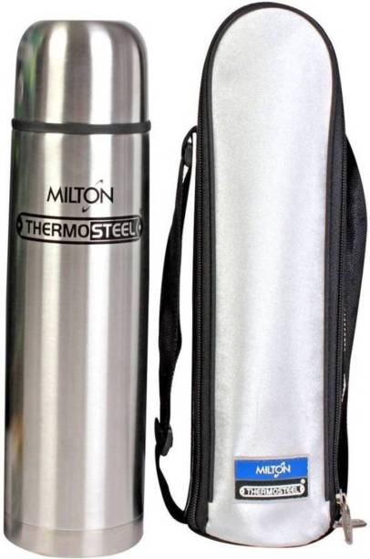 fd8812261e1 Milton Thermosteel Flip lid 1000 ml Flask (Pack of 1
