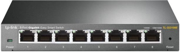 TP-Link TL-SG108E 8-Port Gigabit Easy Smart Network Switch