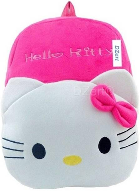 DZert School Bag For Kids Soft Plush Backpack For Small Kids Nursery Bag  (Age 2 b173500f0a125
