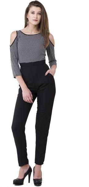fb76c99ad6 Black Jumpsuits - Buy Black Jumpsuits Online at Best Prices In India ...