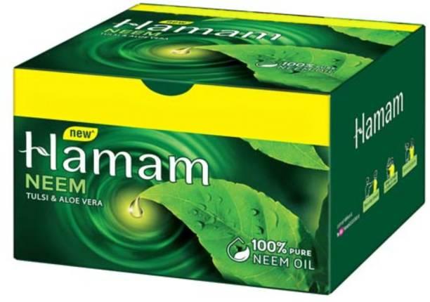 HAMAM Neem Tulsi and Aloevera Soap