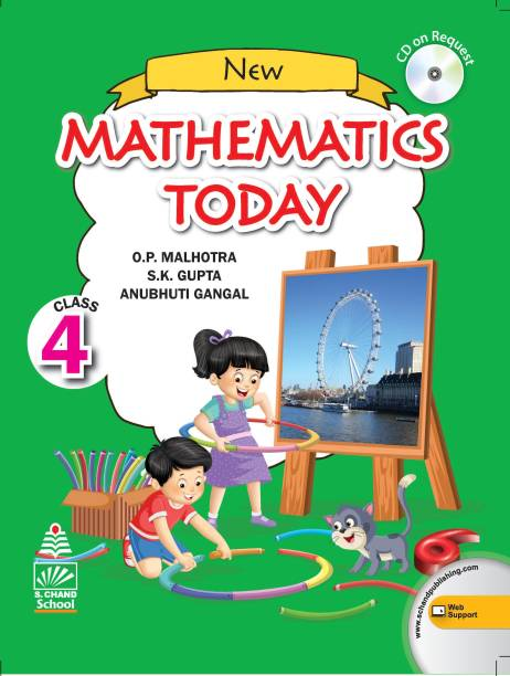 New Mathematics Today Class 4 (for 2021 Exam)