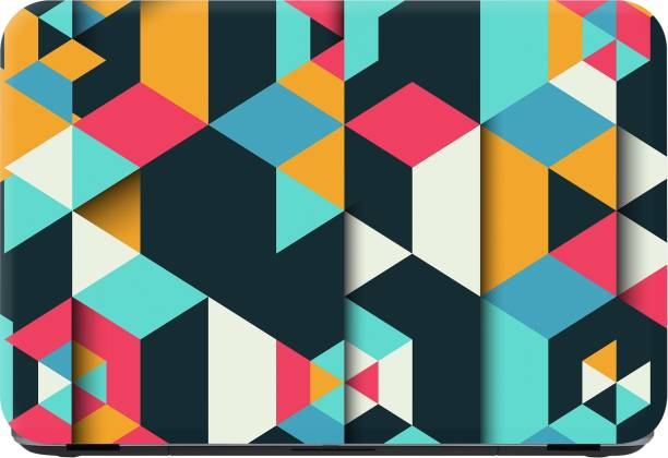 Flipkart SmartBuy abstract in colours Premium LG Vinyl (matte) Laptop Decal 15.6