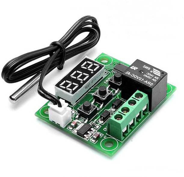 Robocraze W1209 50100 Digital Temperature Controller Thermostat