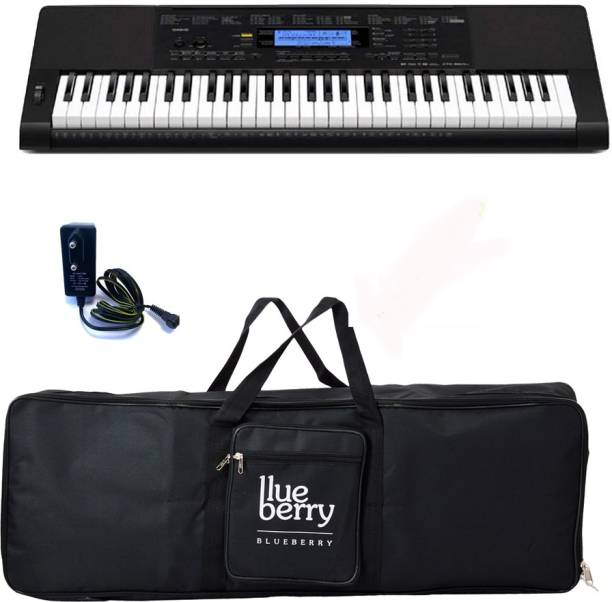 efa2be6c317 Casio CTK-860IN-HIGH-GRADE INDIAN ( 61 Piano style keys with Blueberry