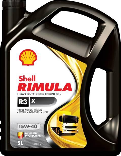 Shell Rimula R3X 15W-40 API CH4 Heavy Duty Engine Oil