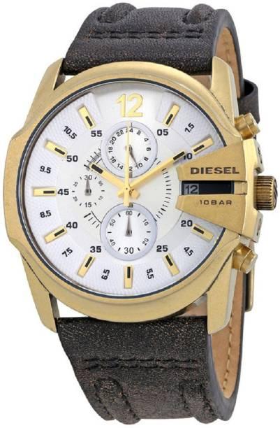95248b9e7a07 Diesel DZ4435 Diesel Masterchief Silver Dial Mens Chronograph Watch Watch -  For Men