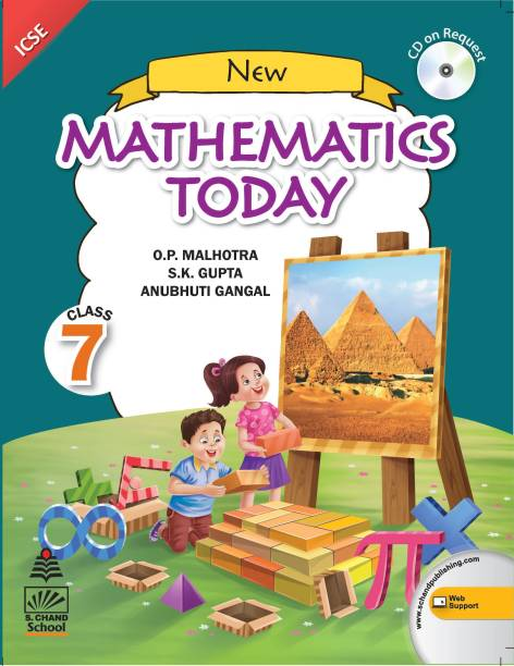 New Mathematics Today Class 7 (for 2021 Exam)