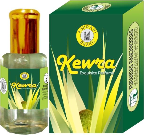 Purandas Ranchhoddas PRS Kewra Attar Eau de Parfum  -  10 ml