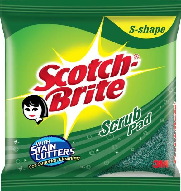 Scotch-Brite S-Shape Scrub Pad