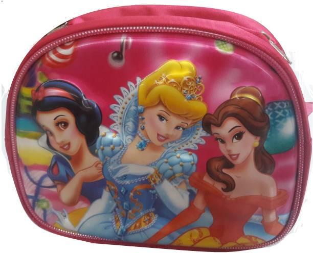 Giftshub Embossed Princess 5D Waterproof Lunch Bag