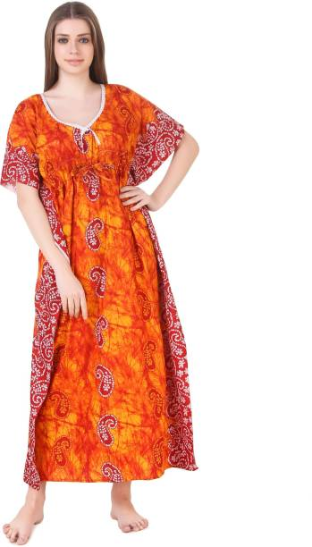3e826fc764 Bright Color With Embroidery Night Dresses Nighties - Buy Bright ...