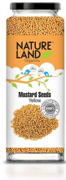 Natureland Organics Mustard Yellow 150 Gm