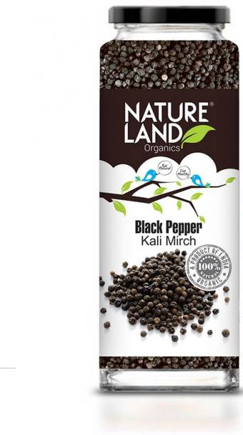 Natureland Organics Black Pepper 75 Gm