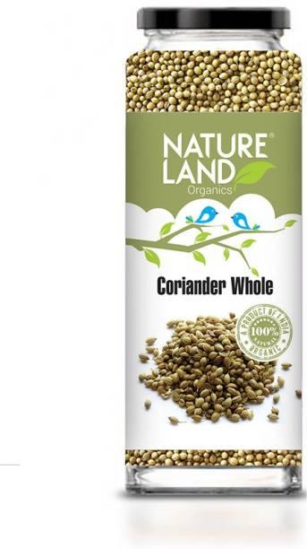 Natureland Organics Coriander Whole 75 Gm