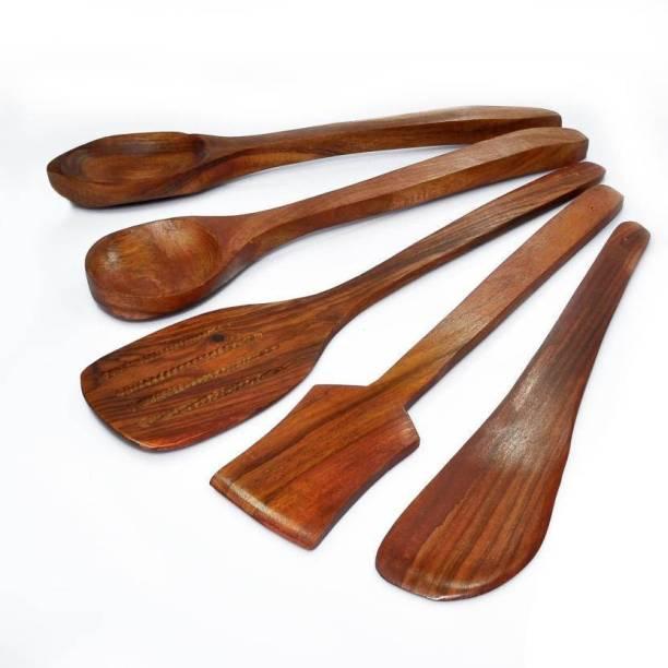 Seema Crafts Wood Ladle