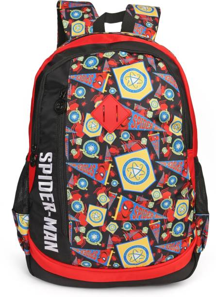 2416b185def3 Marvel Spiderman Homecoming Black   Red 48 cm Waterproof School Bag