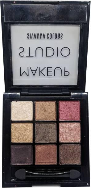 Sivanna Makeup Studio Velvet Silk eyeshadow 14 g