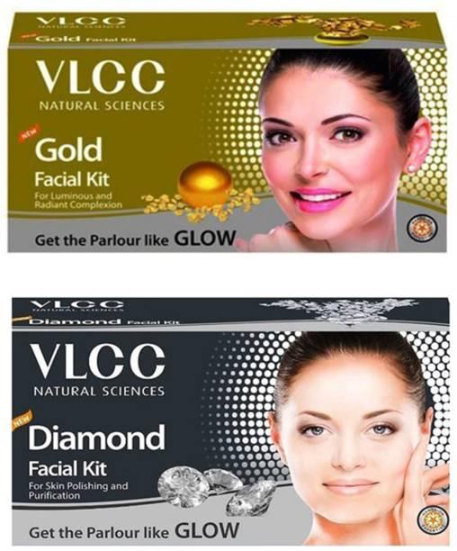 VLCC Original Gold and Diamond Facial Kit