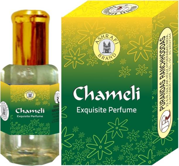 Purandas Ranchhoddas PRS Chameli Attar Eau de Parfum  -  10 ml