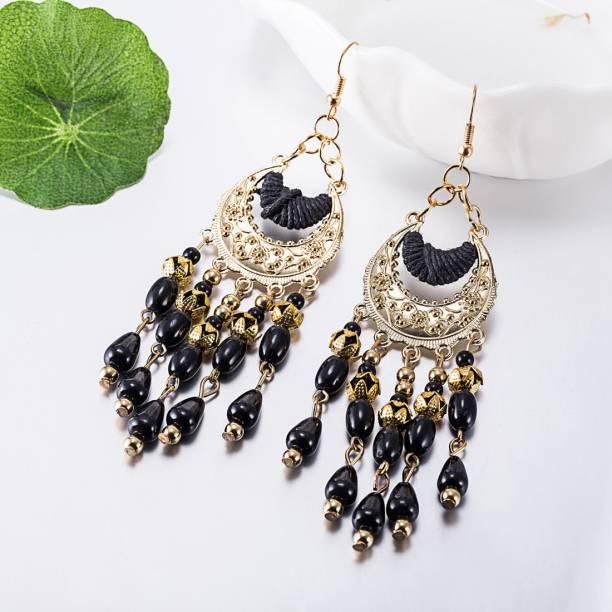21035ea31 Black Earrings - Buy Black Earrings online at Best Prices in India ...