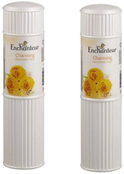 Enchanteur Charming (Pack of 2) Perfumed Talc