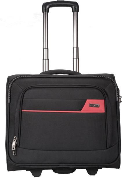Cosmus Tourister Pilot Strolley 36 Litre Overnighter Laptop Trolley Bag Small Travel Medium