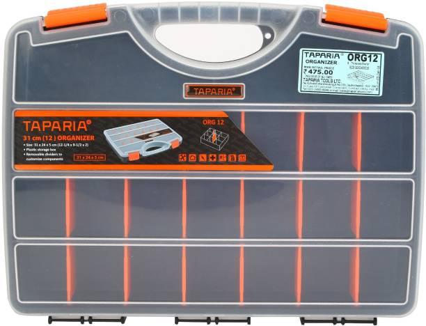 TAPARIA ORG 12 Tool Box with Tray
