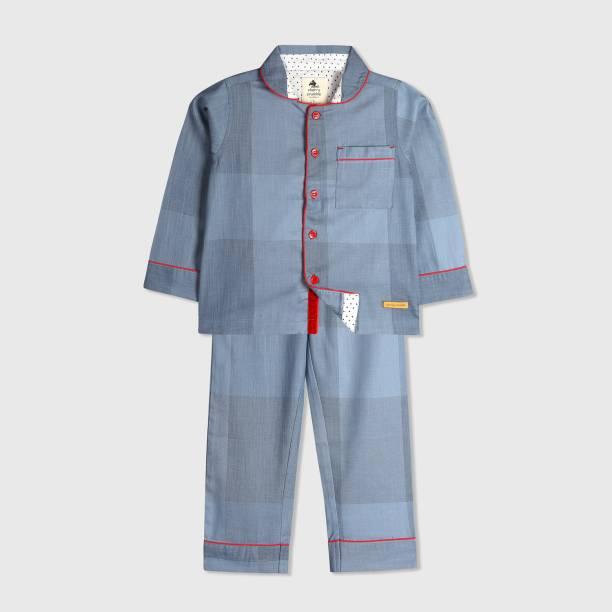 2291da44387 Cherry Crumble California Kids Nightwear Boys   Girls Checkered Cotton