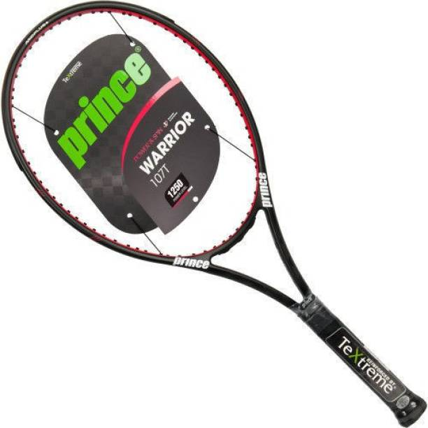 2f99f4f97a Prince WARRIOR 107 T Unstrung   No Cover Red Unstrung Tennis Racquet