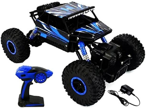 SANJARY HIGH SPEED OFF ROAD R/C ROCK CRAWLER CAR (BLUE)
