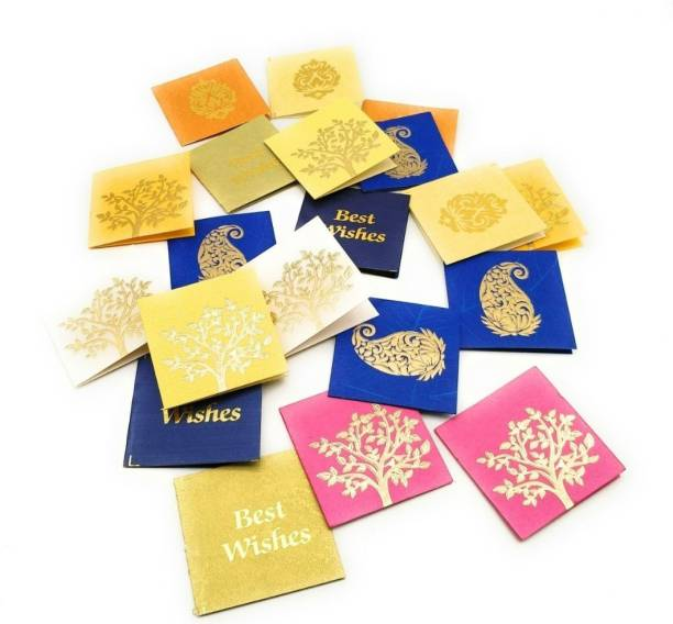 Gift wrappers buy gift wrappers online in india at best prices satyam kraft paper small traditional print multipurpose gift tagcardlable for crafts negle Images