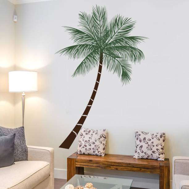 walkart Extra Large WallStickers (9693) coconut tree as beach in your room