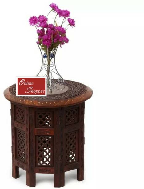 Onlineshoppee Foldable Solid Wood Coffee Table