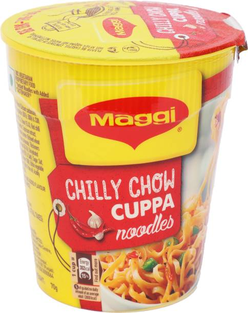 Maggi Chilly Chow Cup Noodles Vegetarian