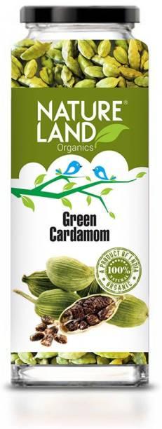 Natureland Organics Green Cardamom 75gm