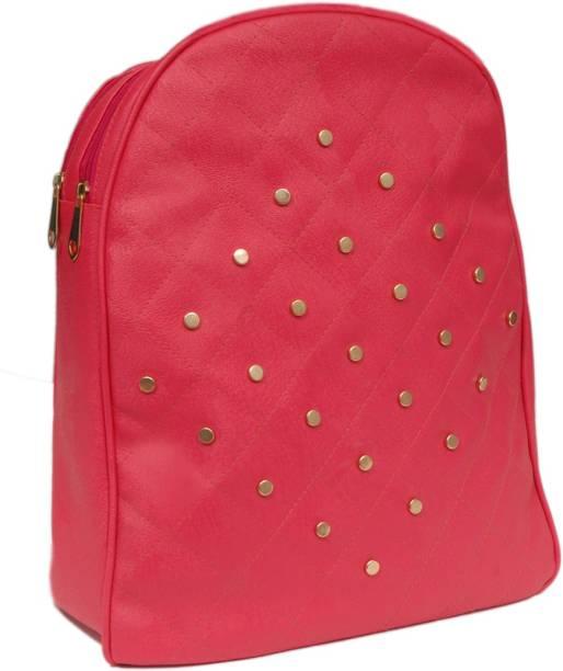 6fc79f52c25b Pink Backpack Handbags - Buy Pink Backpack Handbags Online at Best ...