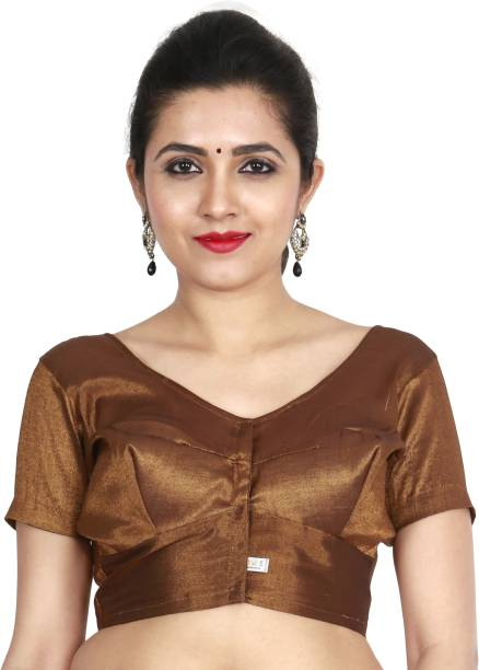 13dbd7a7932e2f Brown Blouses - Buy Brown Blouses Online at Best Prices In India ...
