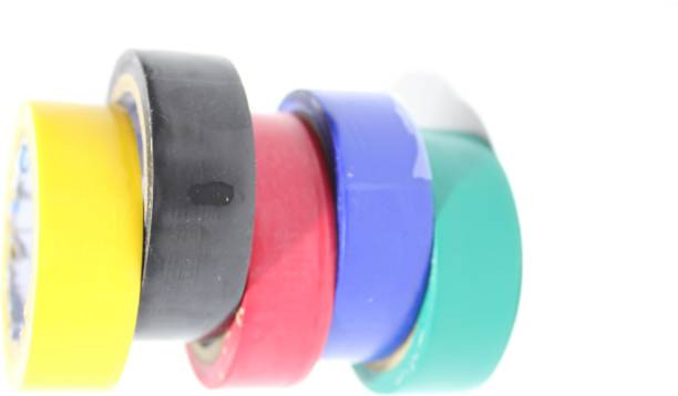 Technology Ahead PVC Tape SET OF 5 (MULTI COLOR)