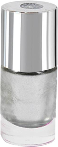 La Perla International Silver Sparkle Nail Paint Silver Sparkle