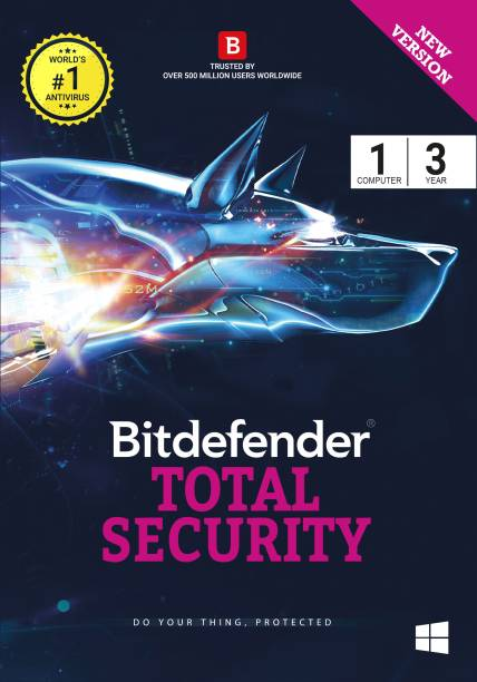 bitdefender Total Security 1 User 3 Years