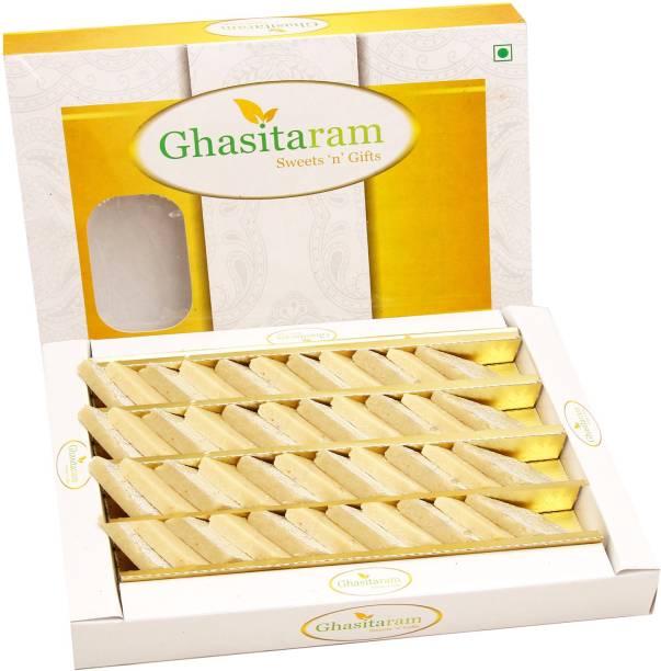 Ghasitaram Gifts Pure Kaju Katlis Box Box