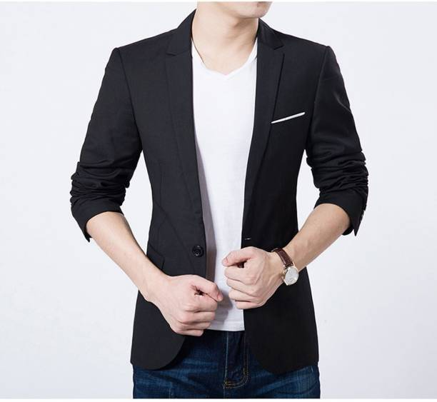Grey marl single button boyfriend jacket Marl singles - PACO SAKO