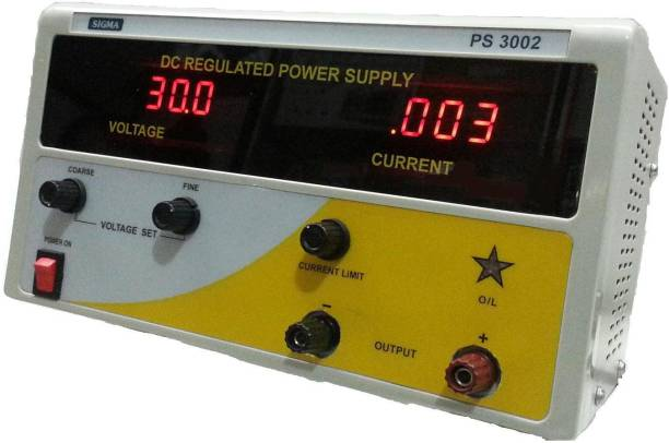 """SIGMA DC Power Supply DC Regulated Power Supply """"Sigma"""", 0-30VDC / 2 Amp Non-magnetic Electronic Level"""
