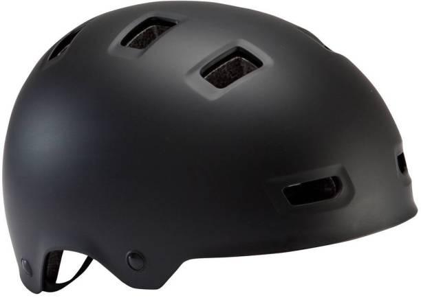 BTWIN by Decathlon 500 Teen Cycling Helmet Black Cycling Helmet
